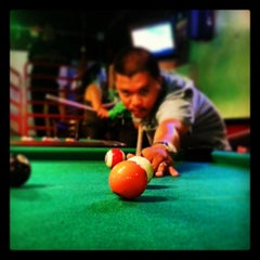 Photo taken at Jake's Burgers & Billiards by Sean S. on 6/29/2013