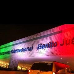 Photo taken at Aeropuerto Internacional de la Ciudad de México (MEX) by Alexz D. on 10/30/2013