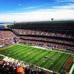 Photo taken at Soldier Field by Zack A. on 10/6/2013