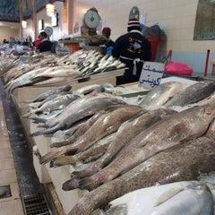 Photo taken at الاشاره المقابله لسوق السمك by Aisha . on 2/3/2014