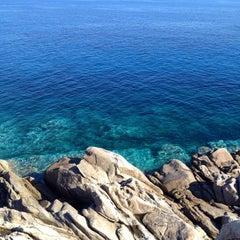 Photo taken at Spiaggia Seccheto by IlPozz on 7/17/2014