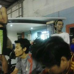 Photo taken at Mayasari Futsal by Agung B. on 10/9/2012