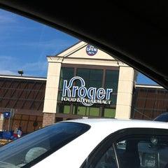 Photo taken at Kroger by Tim W. on 11/16/2012
