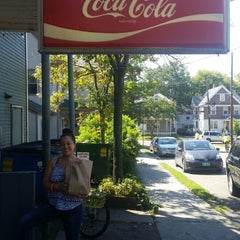 Photo taken at Henry Street Deli Mart by Morena V. on 9/1/2014