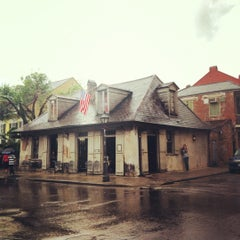 Photo taken at Lafitte's Blacksmith Shop by Caitlin B. on 9/30/2012