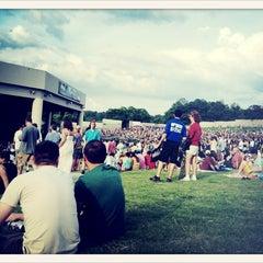 Photo taken at Aaron's Amphitheatre at Lakewood by Aaron on 6/30/2013
