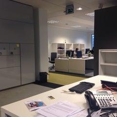 Photo taken at Tilburg University Library by Maarten M. on 1/8/2014