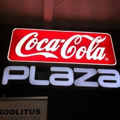Photo taken at Coca-Cola Plaza by Maiia on 10/20/2012
