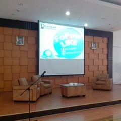 Photo taken at Auditorium lantai 5 Gedung J Untar by ruslan c. on 5/8/2014