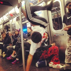 Photo taken at MTA Subway - L Train by cynthia w. on 4/2/2013