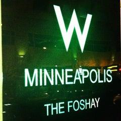 Photo taken at W Minneapolis - The Foshay by Erika S. on 10/13/2012