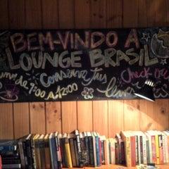 Photo taken at Lounge Brasil by Patrick A. on 4/20/2013