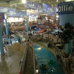 Photo taken at Water Park Of America by Sanja K. on 3/15/2013