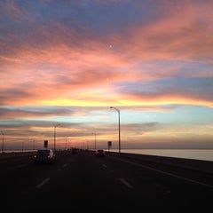 Photo taken at Howard Frankland Bridge by Darrell L. on 1/13/2013