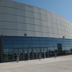 Photo taken at Convocation Center by Northern Illinois University on 5/22/2014