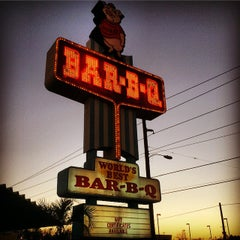 Photo taken at Maurice's BBQ Piggie Park by Travers S. on 12/26/2014