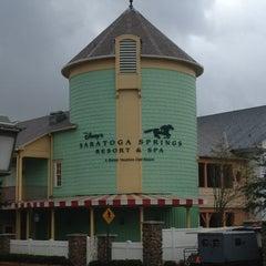 Photo taken at Disney's Saratoga Springs Resort & Spa by Brian K. on 1/21/2013