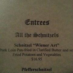 Photo taken at Old German Schnitzel Haus by Sean H. on 3/25/2014