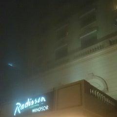 Photo taken at Radisson Hotel by Arjun on 12/17/2013