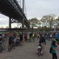 Photo taken at Astoria Park Parking Lot by Alan S. on 5/4/2014