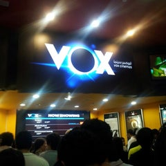 Photo taken at VOX Cinemas by Ibrahim A. on 10/28/2012