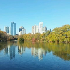 Photo taken at Piedmont Park by Andrew G. on 11/22/2012