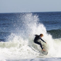 Photo taken at Asbury Park Beach by Mike G. on 10/21/2012