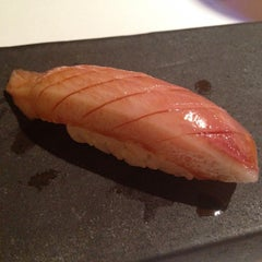 Photo taken at Sushi Azabu by Lilly L. on 3/21/2013