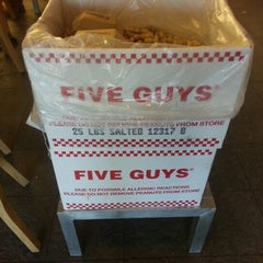 Photo taken at Five Guys by Dirk R. on 12/26/2012