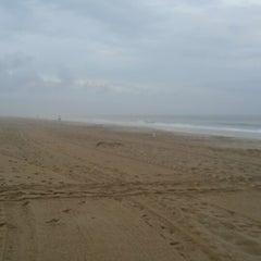 Photo taken at 59th St Beach by Shari B. on 7/16/2014