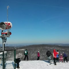 Photo taken at Minuteman Top Of Mountain by Shari B. on 1/4/2014