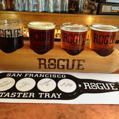 Photo taken at Rogue Ales Public House by Avery J. on 4/23/2013