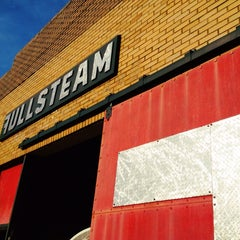 Photo taken at Fullsteam Brewery by David C. on 7/8/2013