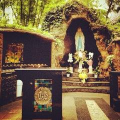 Photo taken at Gereja Santa Theresia by Stefanus A. on 6/6/2013