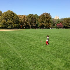 Photo taken at Great Lawn - Central Park by Chris K. on 10/20/2012
