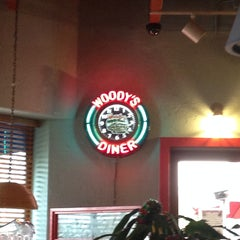 Photo taken at Woody's Diner by Christina M. on 12/11/2014
