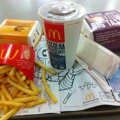 Photo taken at McDonald's by Cadu P. on 2/4/2013