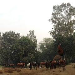 Photo taken at Delhi Riding Club by Hiroshi O. on 12/16/2012