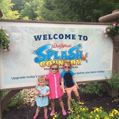 Photo taken at Dollywood's Splash Country by Kristin G. on 8/14/2015