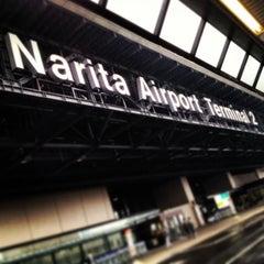 Photo taken at 成田国際空港 第2ターミナル (Narita International Airport - Terminal 2) by Hiroyuki F. on 2/26/2013