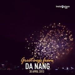 Photo taken at Da Nang Fireworks Competition by Vivian N. on 4/29/2013