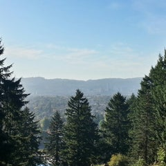 Photo taken at Mt. Tabor Park by Weston R. on 10/17/2012