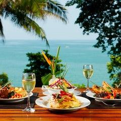 Photo taken at Baan Krating Khao Lak Resort Phang Nga by Karina K. on 4/16/2013