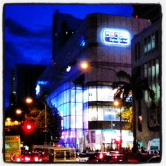 Photo taken at Funan DigitaLife Mall by stephane l. on 5/4/2013