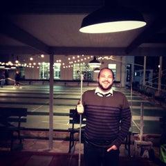 Photo taken at St. Petersburg Shuffleboard Club by Michael M. on 1/24/2013