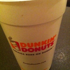 Photo taken at Dunkin' Donuts by Sebastian R. on 10/29/2012