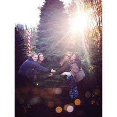 Photo taken at Clancy's Christmas Trees by Alyssa M. on 12/8/2013