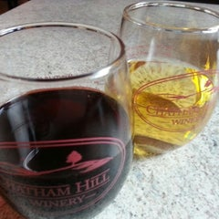 Photo taken at Chatham Hill Winery by L Troy A. on 2/3/2013