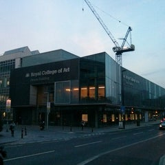 Photo taken at Royal College of Art - Dyson Building by Plastic P. on 4/2/2014