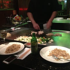 Photo taken at Kiraku Hibachi & Sushi by Albert G. on 11/16/2012